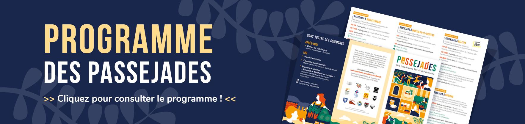 Programme des Passejades (clic)